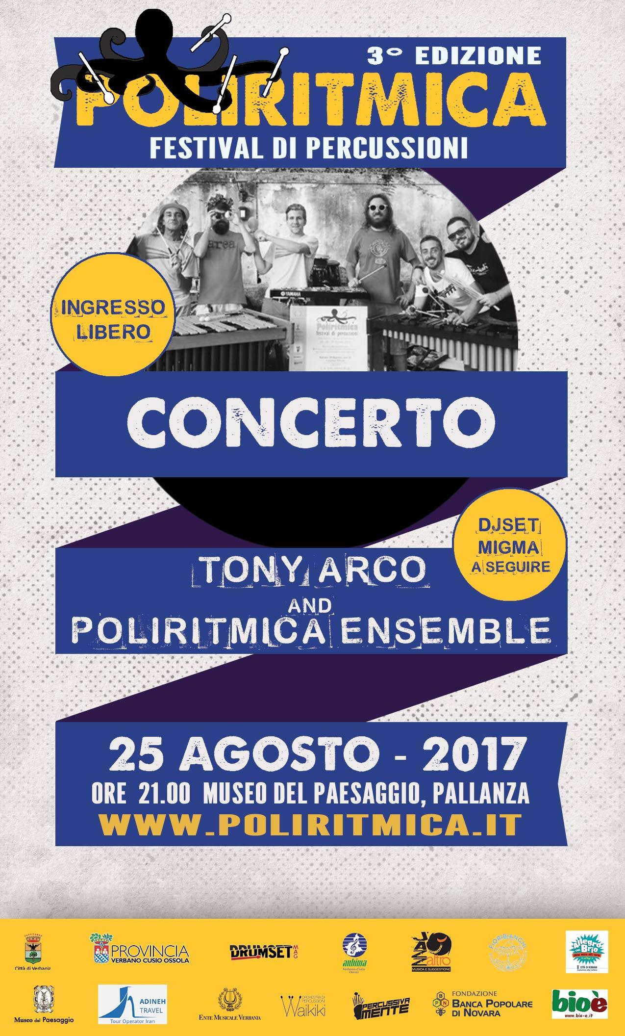 25 agosto h 21 poliritmica ensemble