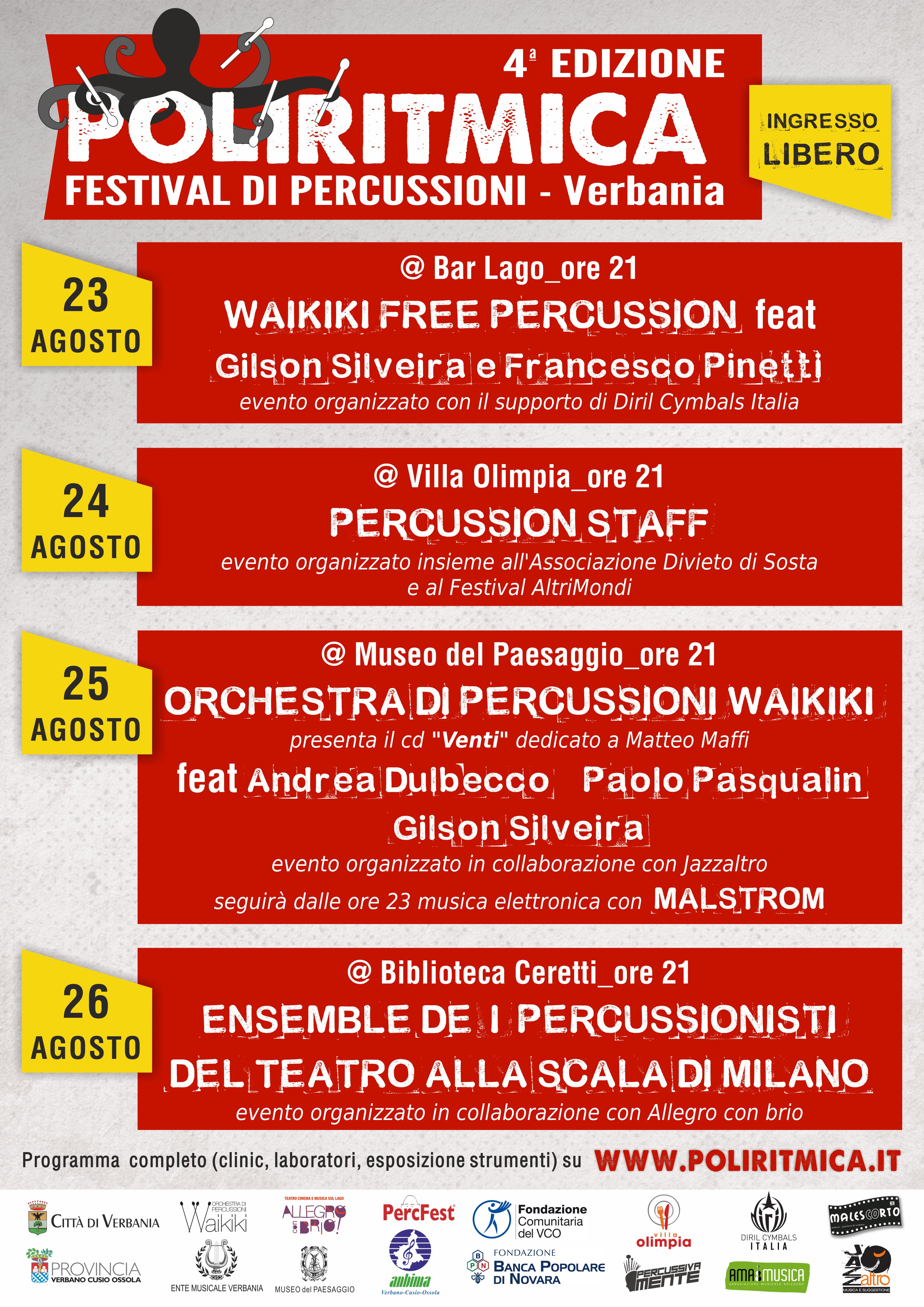 concerti poliritmica 2018